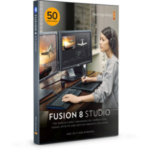 Blackmagic Design Fusion Studio MultiPack with 50-User License